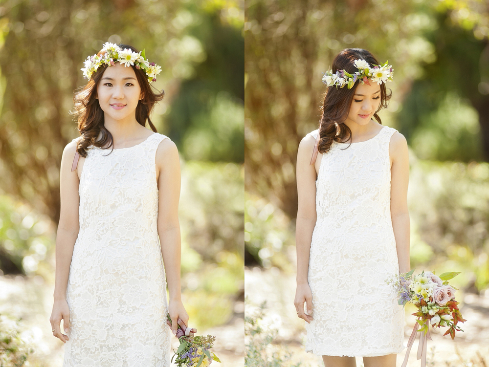 engagement photography perth lace dress and flower crown