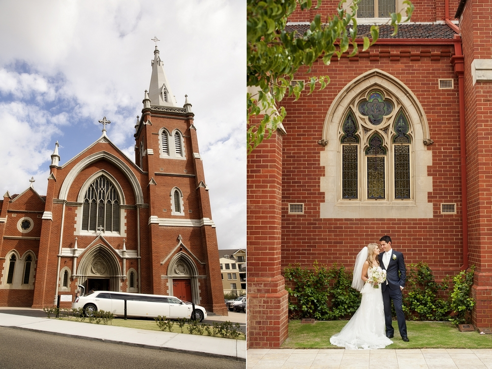perth wedding at st josephs subiaco