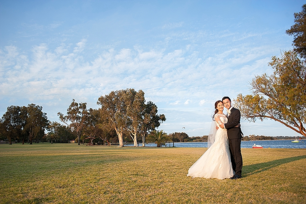 swan river foreshore wedding nedlands perth