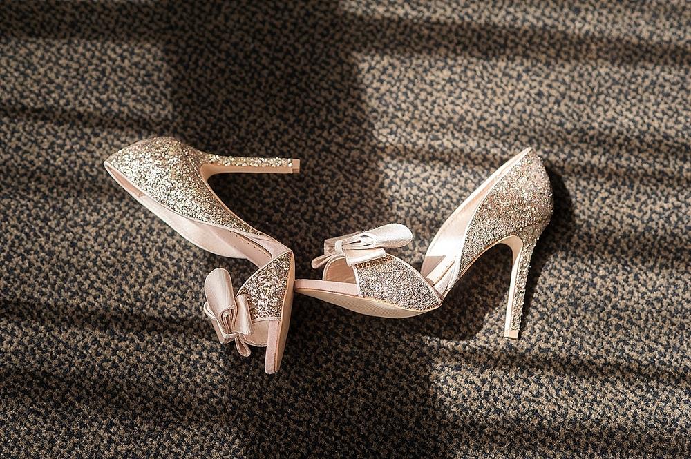 10_bridal shoes rose gold glitter wedding perth.jpg