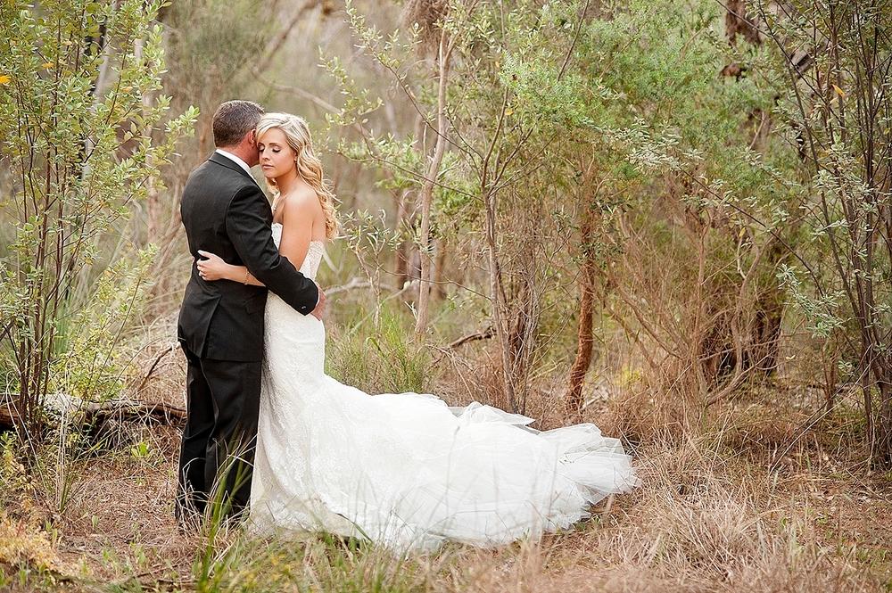 52_bride and groom in native australian bush kings park wedding perth.jpg