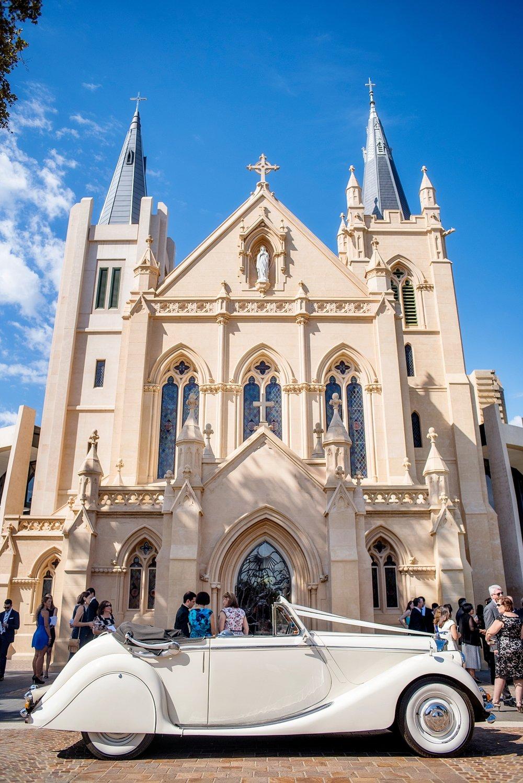 54_st marys cathedral vintage car wedding perth.jpg