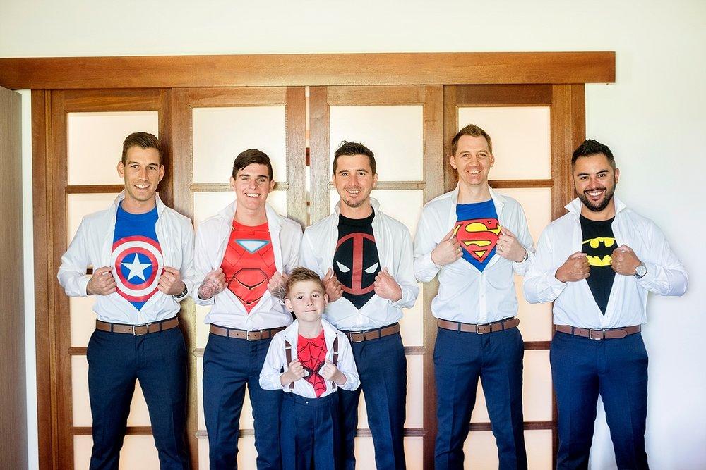 02_groom and groomsmen in superhro marvel shirts  wedding perth.jpg