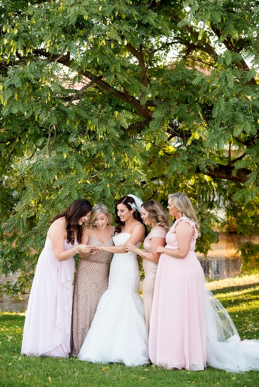 20_mismatched blush pink bridesmaids wedding perth.jpg