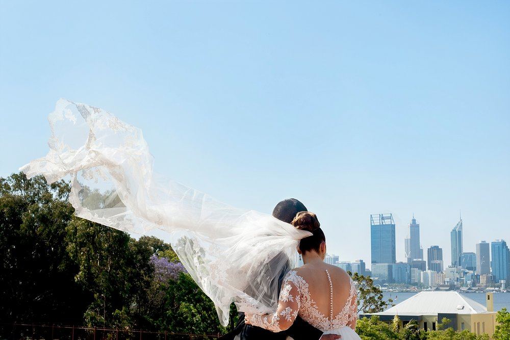 28 bride and groom in south perth wedding perth.JPG
