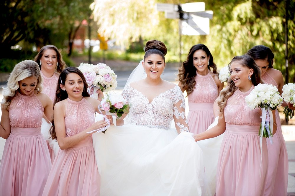 29 blush bridesmaids at uwa wedding perth.JPG