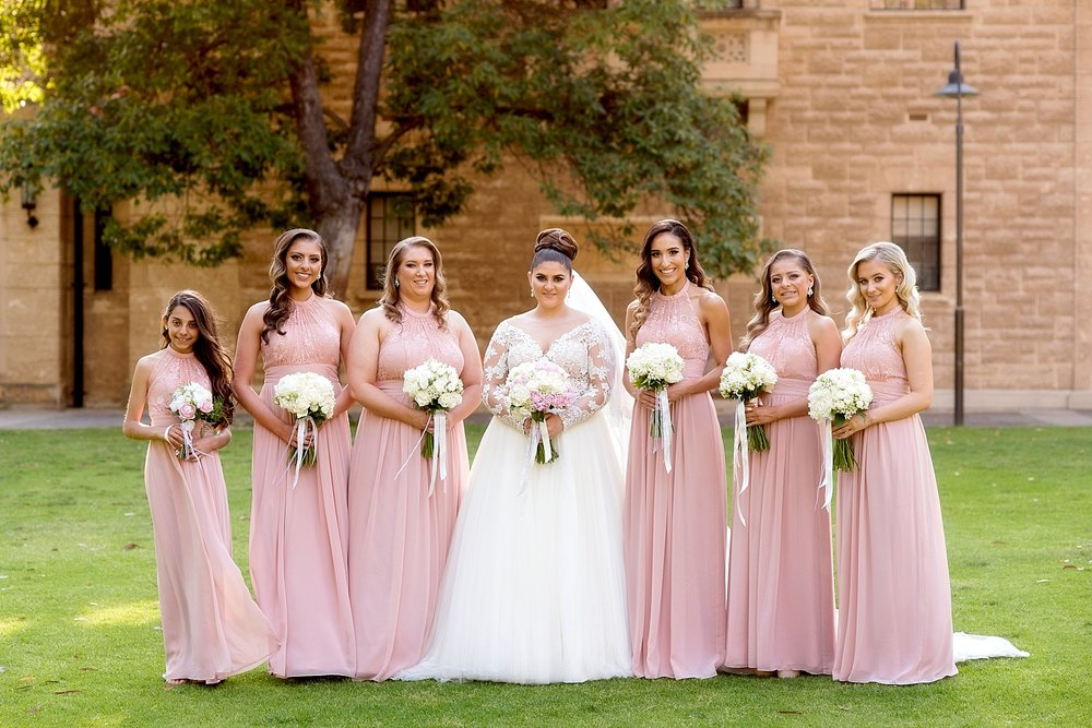 39 blush bridesmaids at uwa wedding perth.JPG