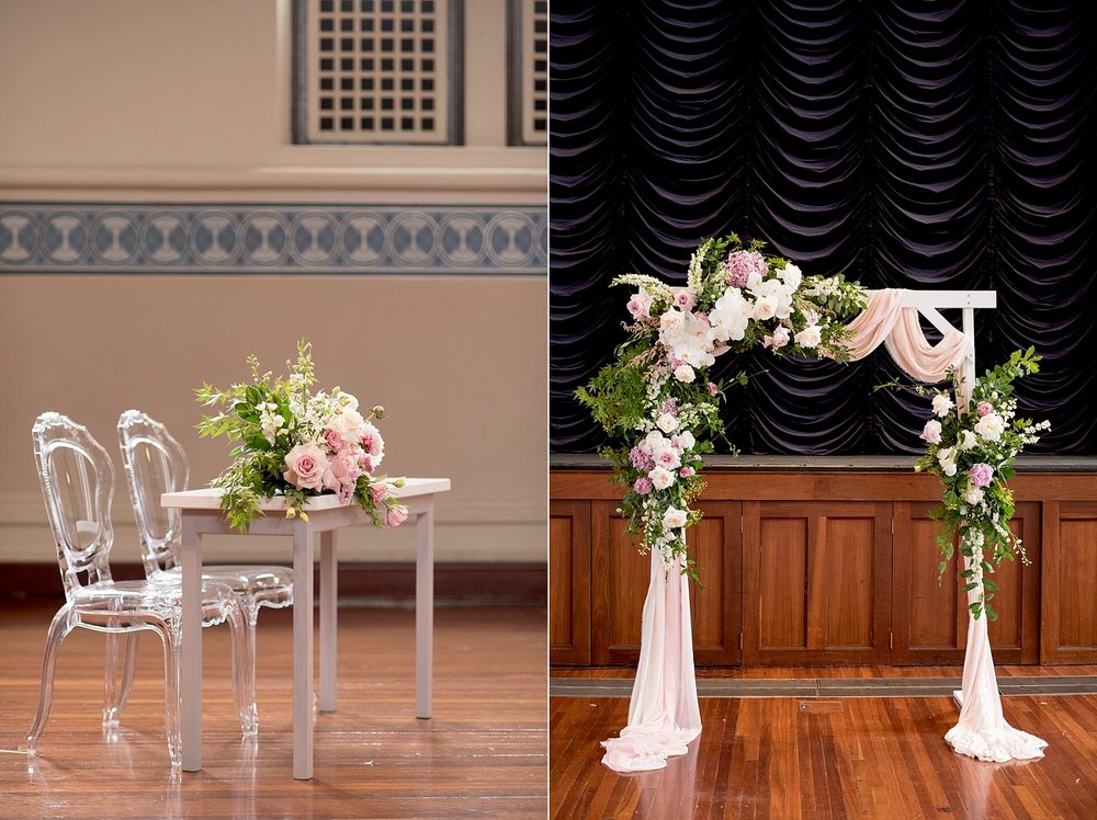 27_Perth Town Hall wedding with floral arbour.jpg