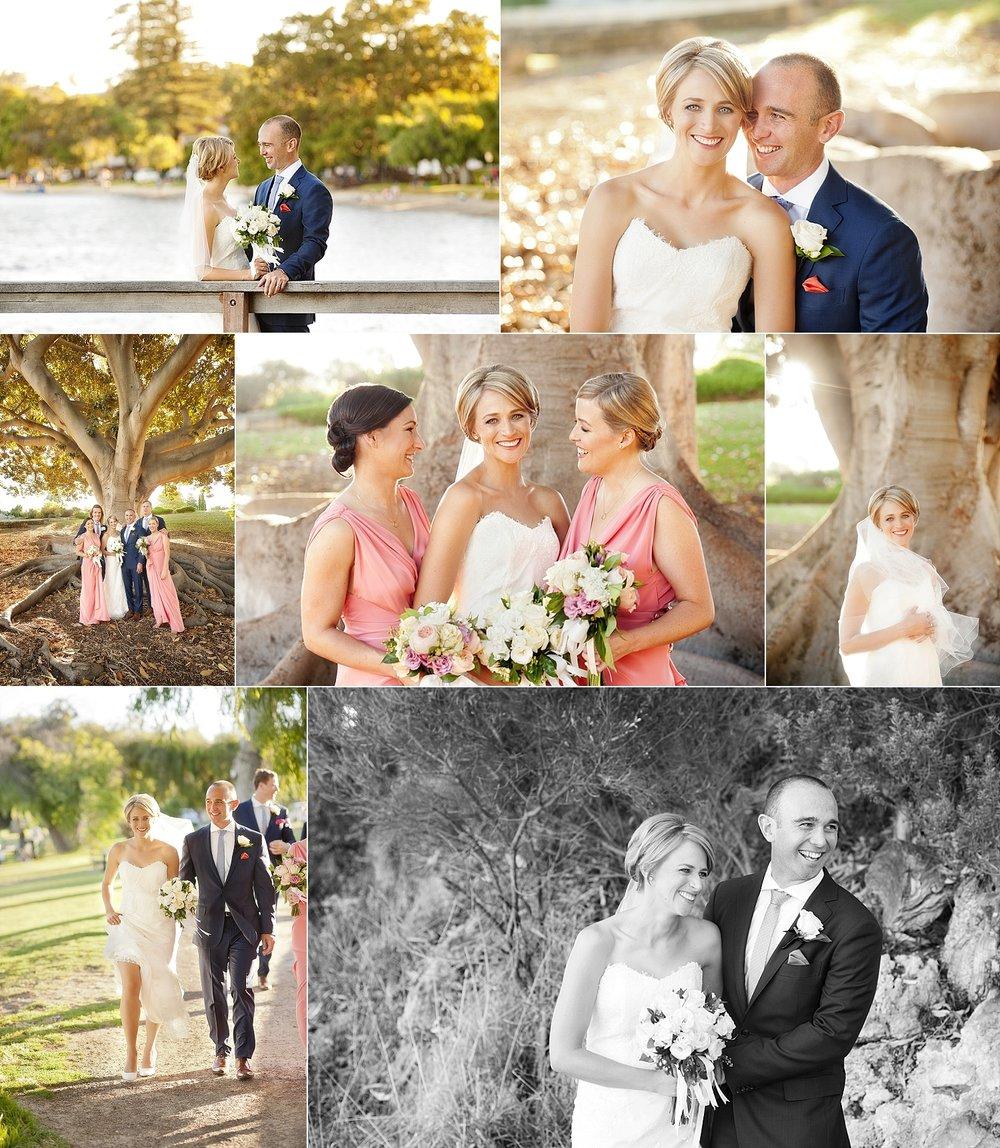 mosman park foreshore wedding photos