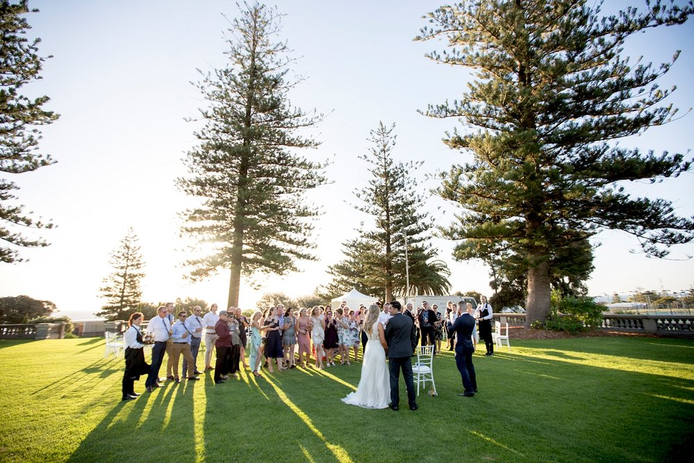 66_cocktails on main lawn at cottesloe civic centre wedding perth.jpg