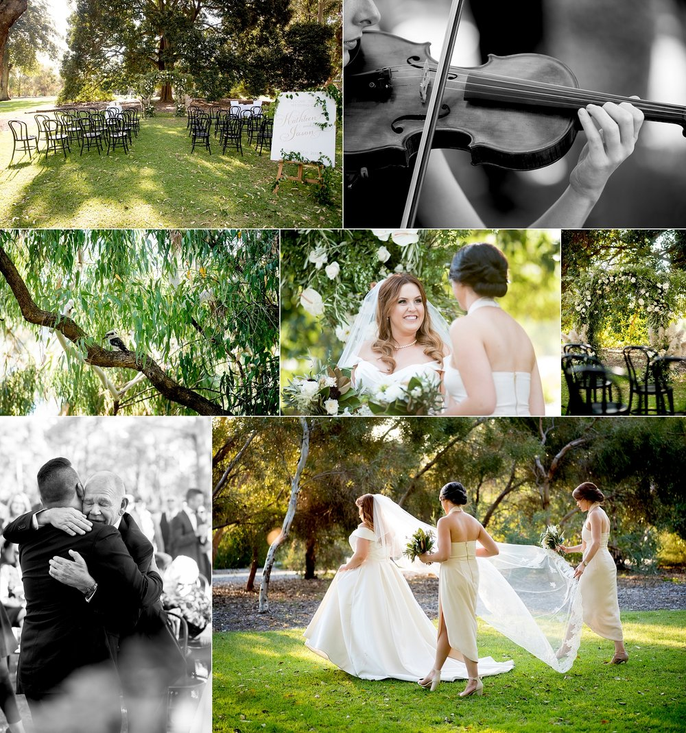 Kings Park wedding ceremony Perth