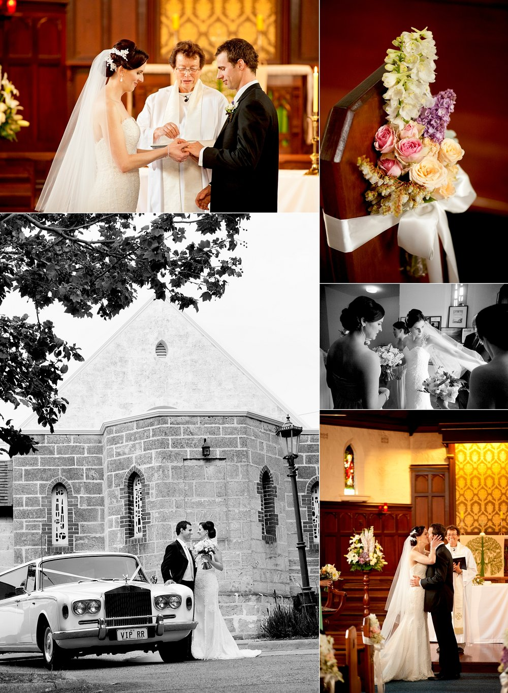 st lukes anglican wedding ceremony perth