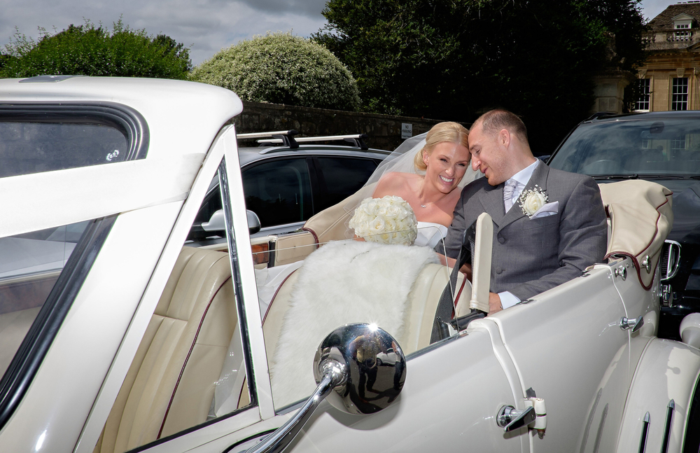 arrive in style for your wedding