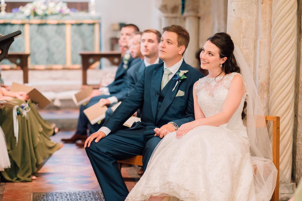 Bride in the church