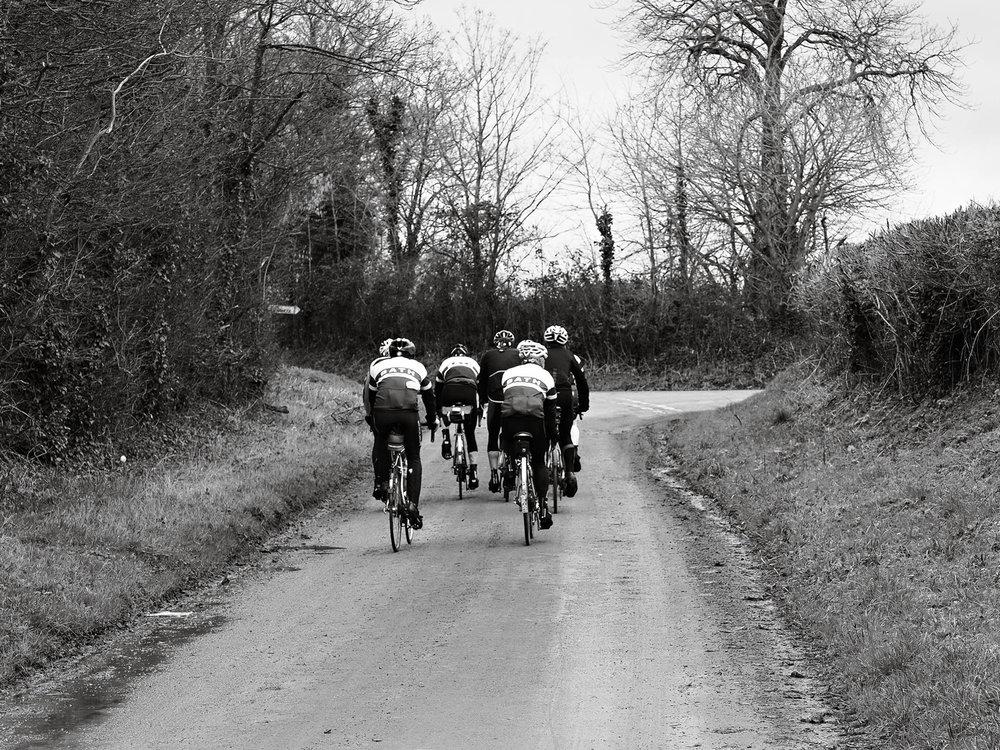 Bikes away
