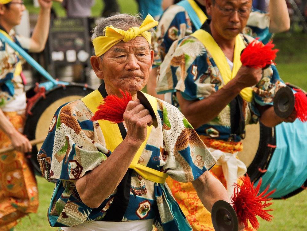 石沢保存会・南部駒踊り