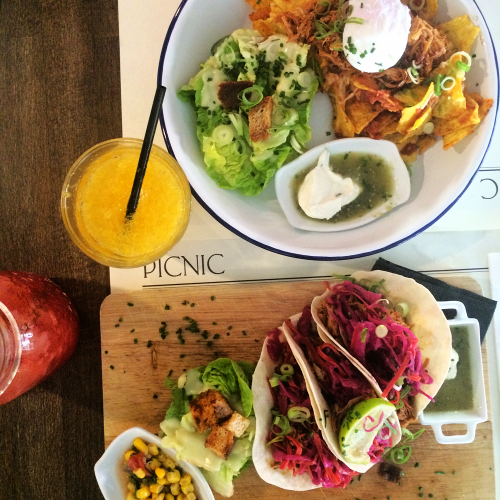 Chilaquiles and tacos: brunch at Picnic Restaurant Barcelona