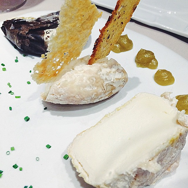 Cheeses at Taverna del Clinic, Barcelona
