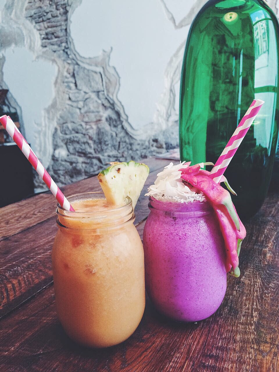 Smoothies at Tropico, Barcelona