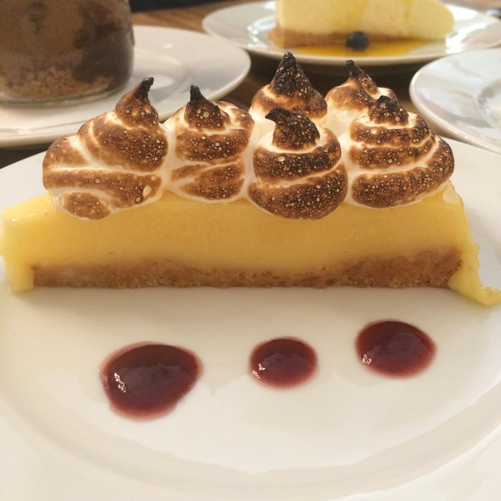 Lemon Meringue Pie at Santa Gula Barcelona