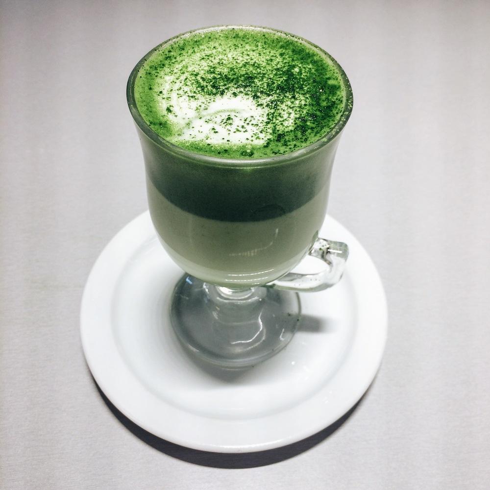 Matcha Latte at Takashi Ochiai, Barcelona
