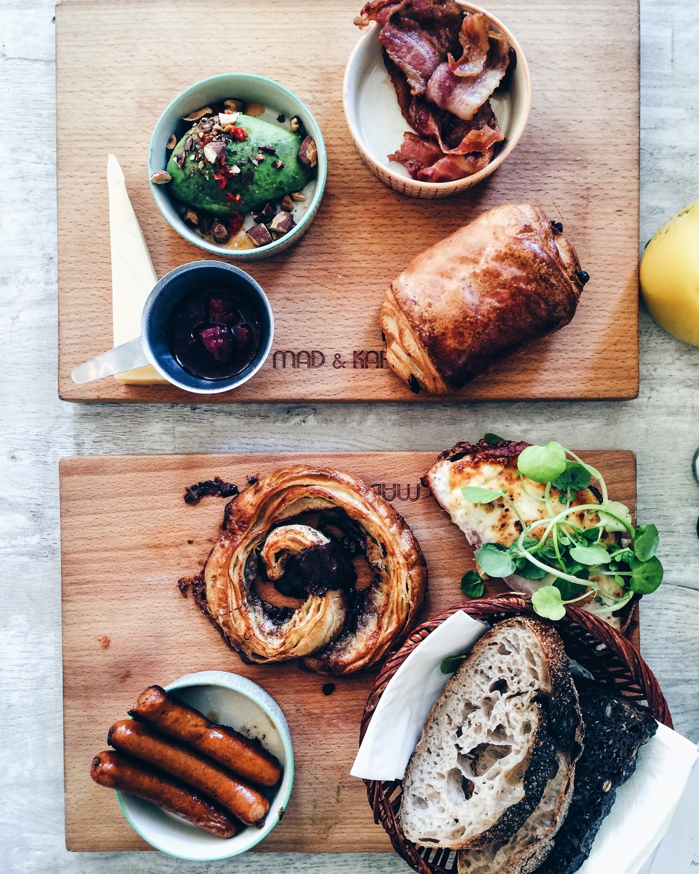 Brunch at Mad & Kaffe, Copenhagen
