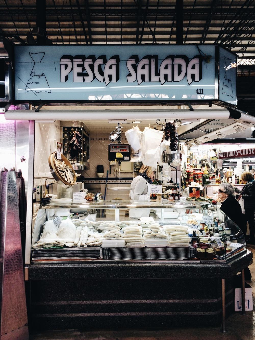 Mercat de l'Abaceria Gracia Barcelona
