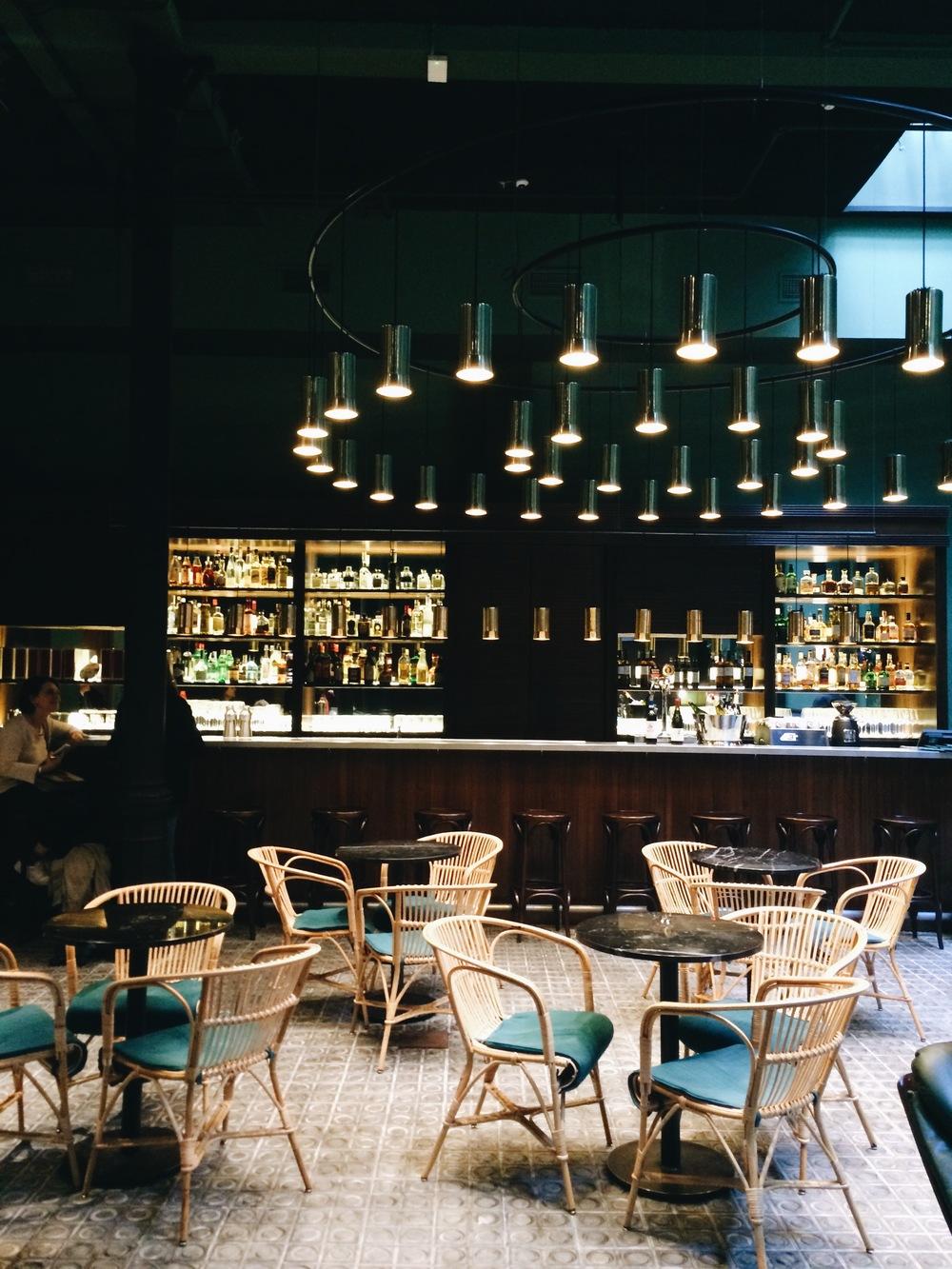 Libertine bar in Casa Bonay, Barcelona
