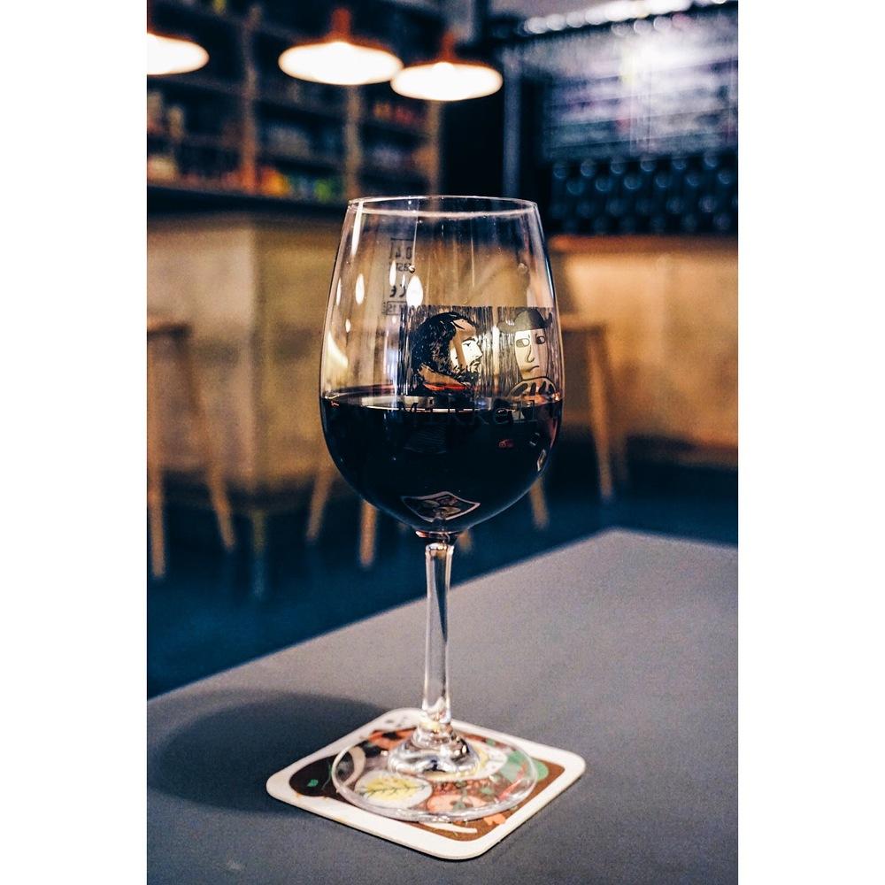 Cherry Wine at Mikkeller, Barcelona