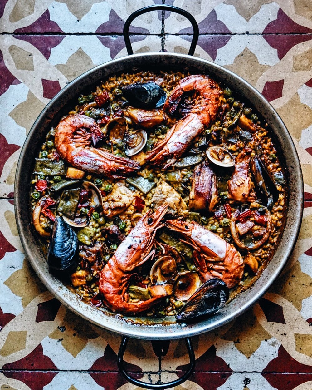 Paella from La Garlana