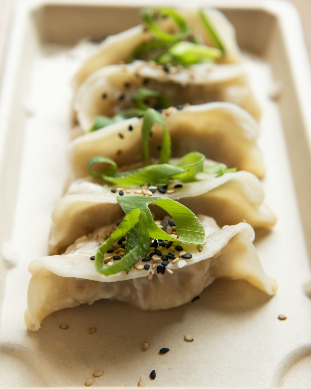 Gyozas at The Hip Fish, Barcelona
