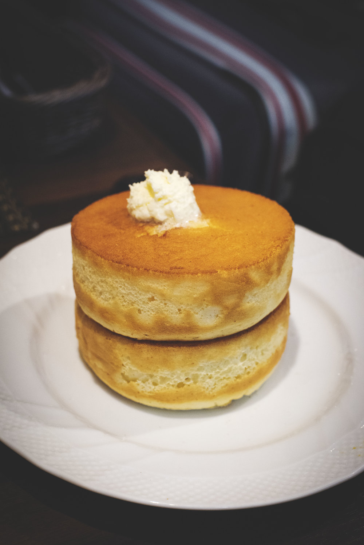 Pancakes at Tokyo Station, Kyoto