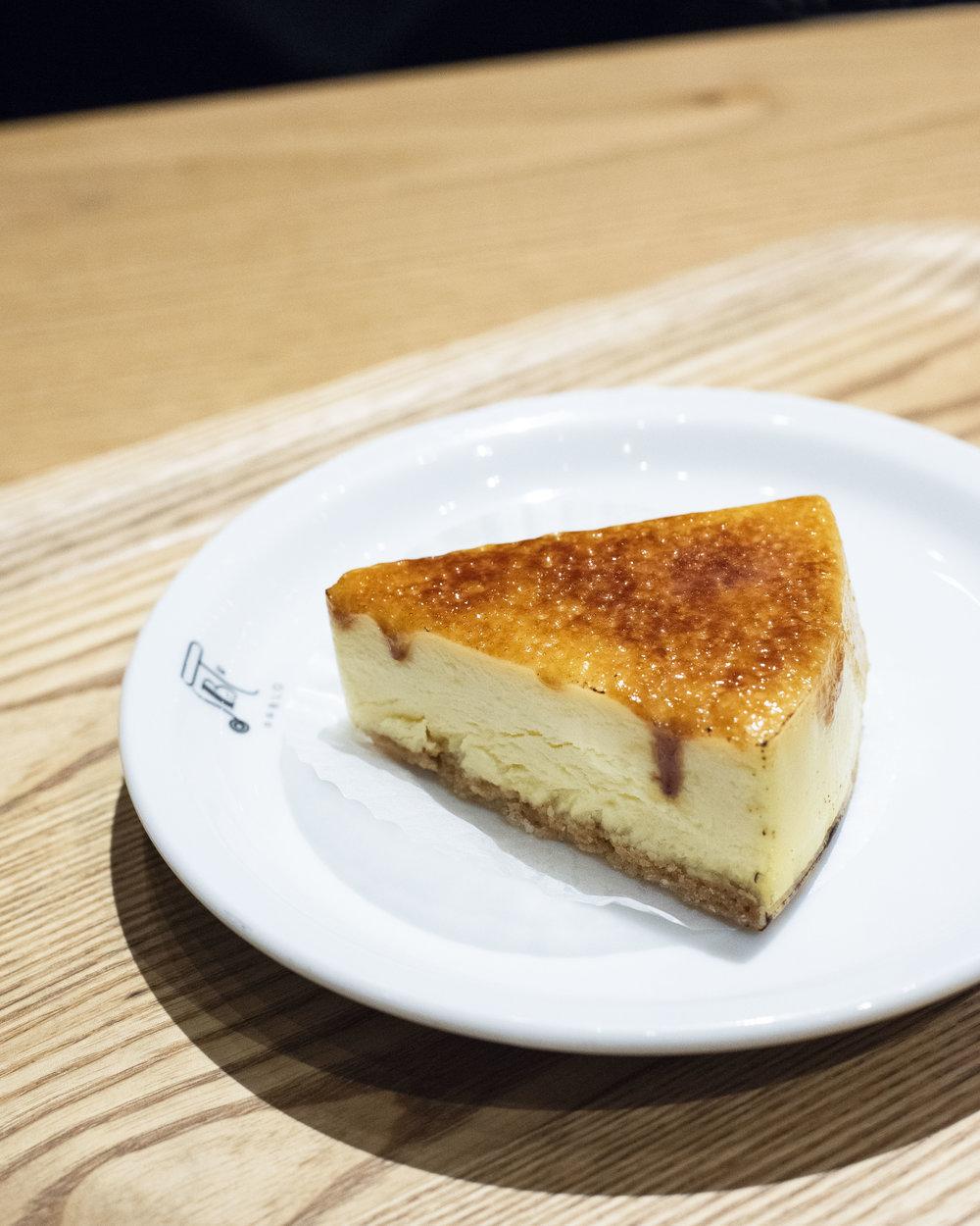 Cheesecake at Pablo, Osaka