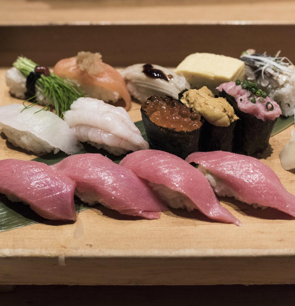 Itamae Sushi, Akasaka, Tokyo