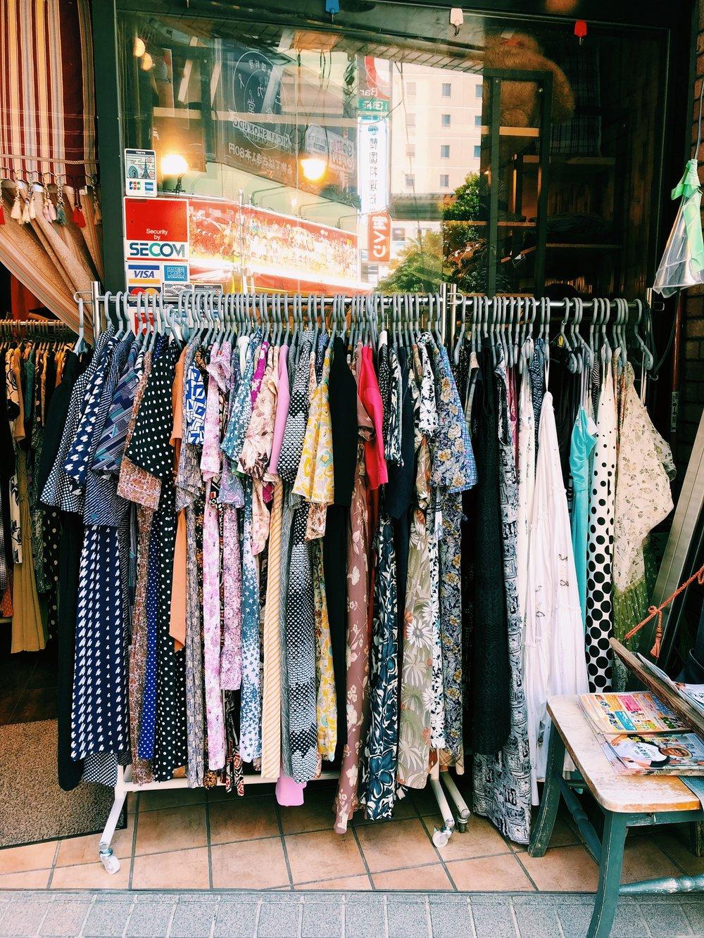 Vintage Shopping Koenji, Tokyo