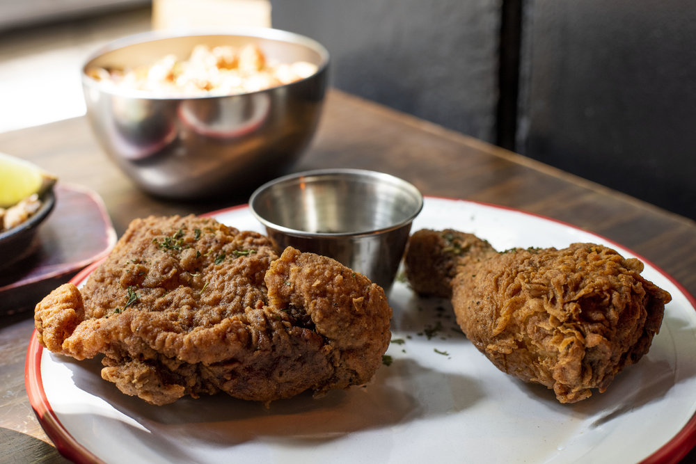 Fried chicken in Rooster, Barcelona
