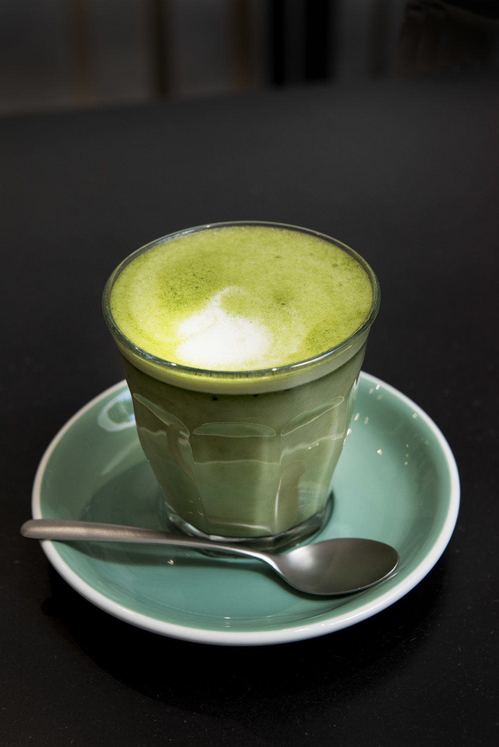 Matcha Latte at Bohl, Barcelona