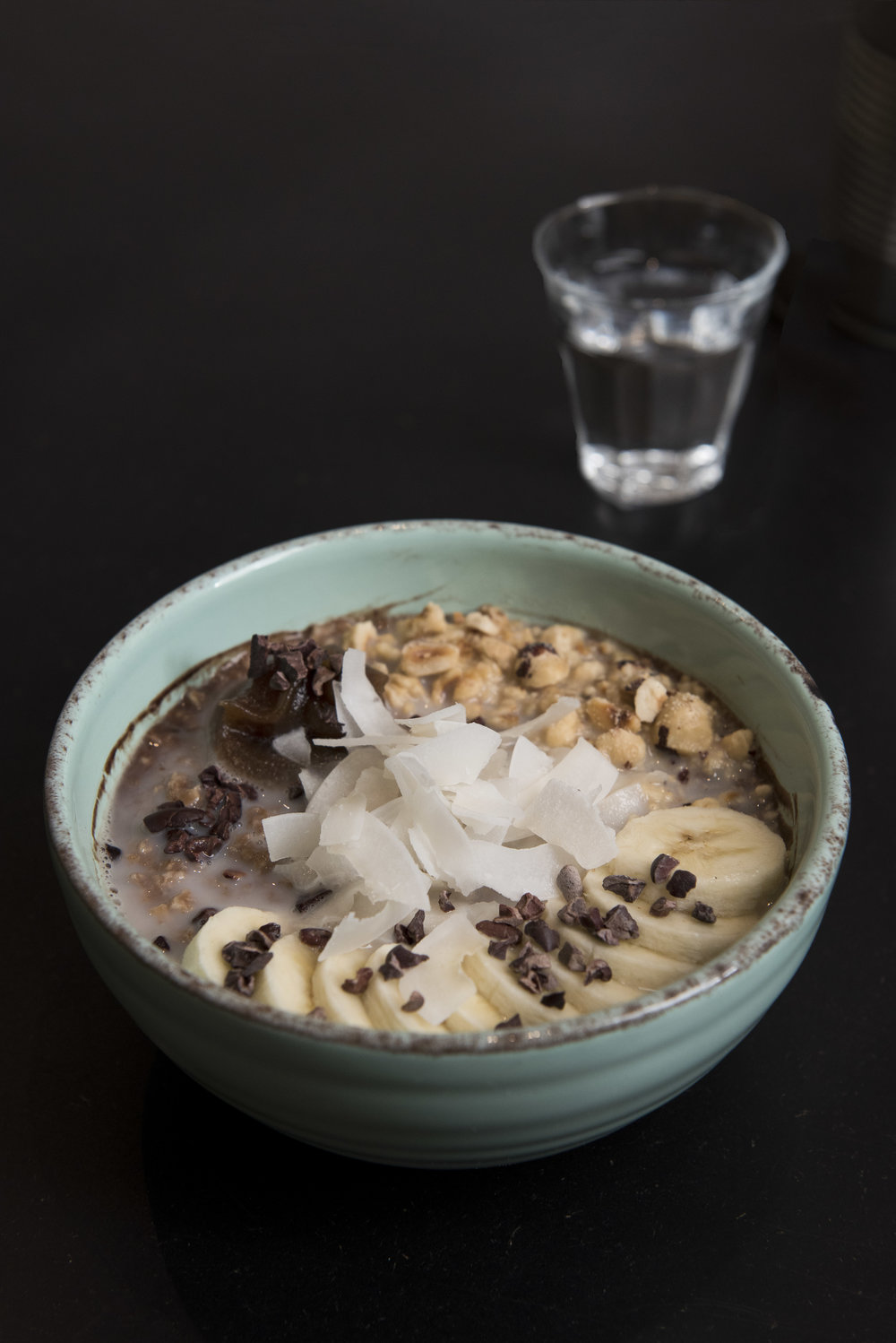 Cocoa Porridge at Bohl, Barcelona