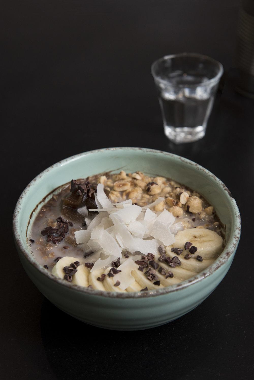 Cocoa Porridge at Bohl, Barcelona