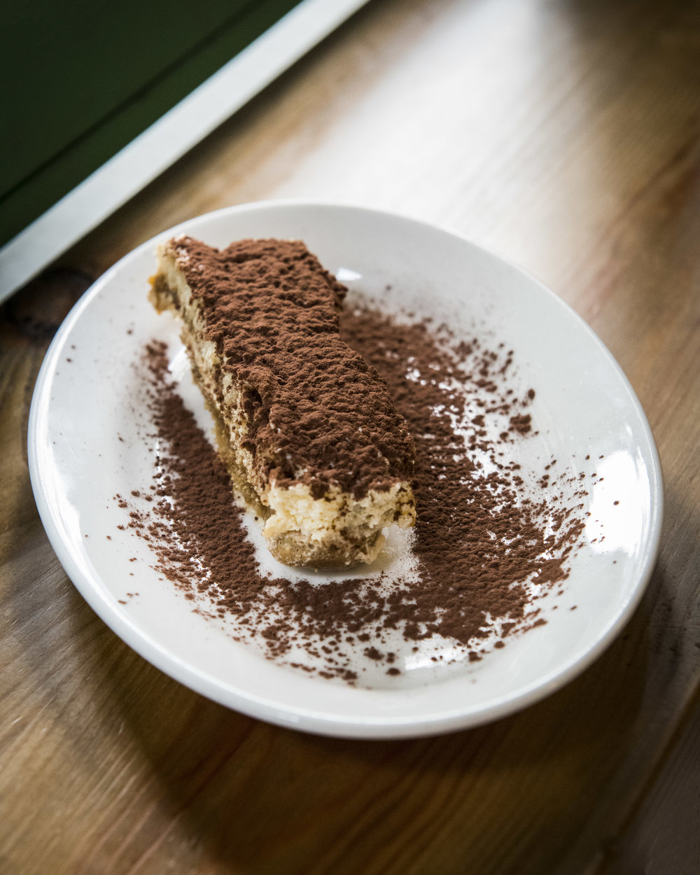 Tiramisu at Bodega Santo Porcello, Barcelona