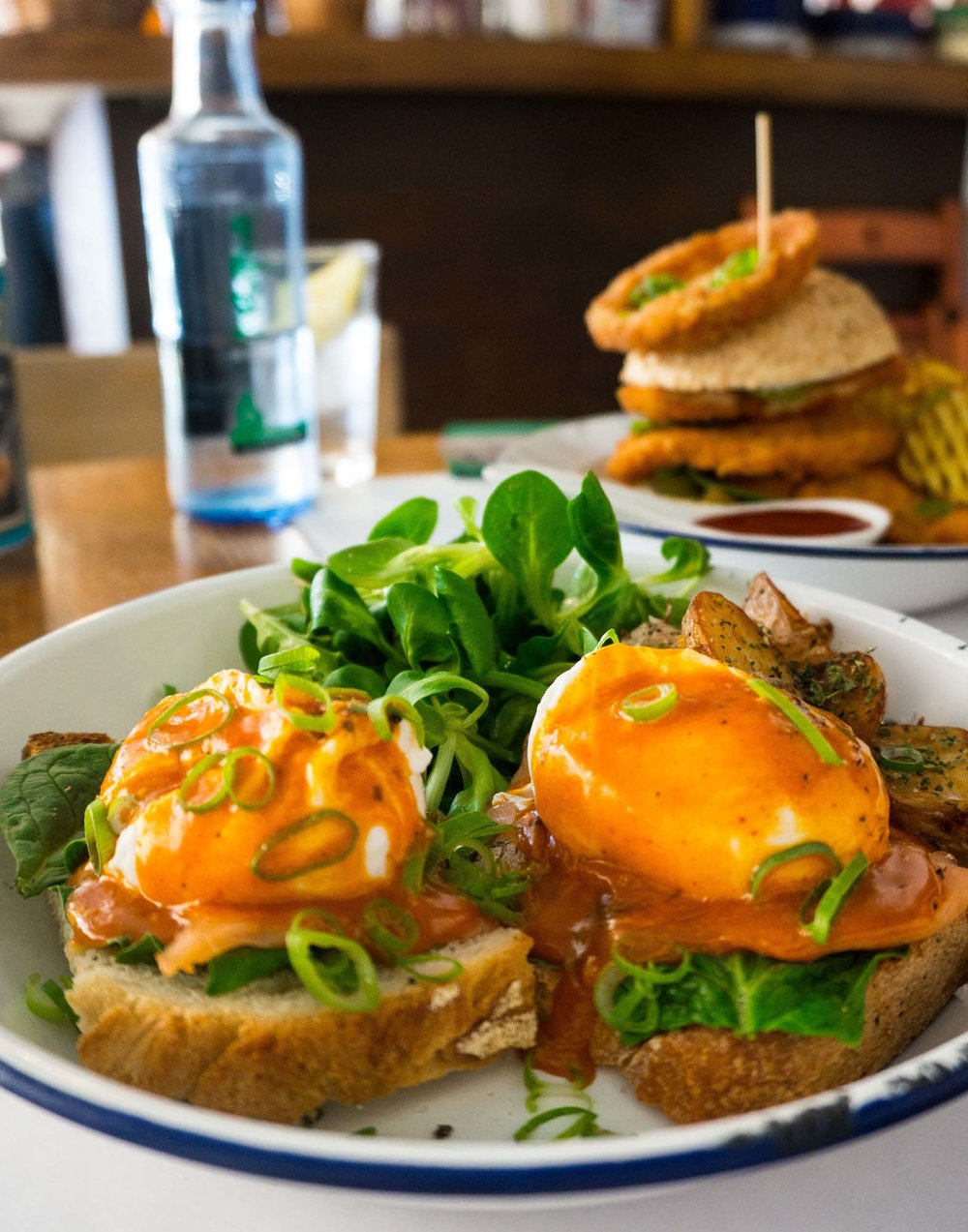Eggs Benedict at Can Dende, Barcelona
