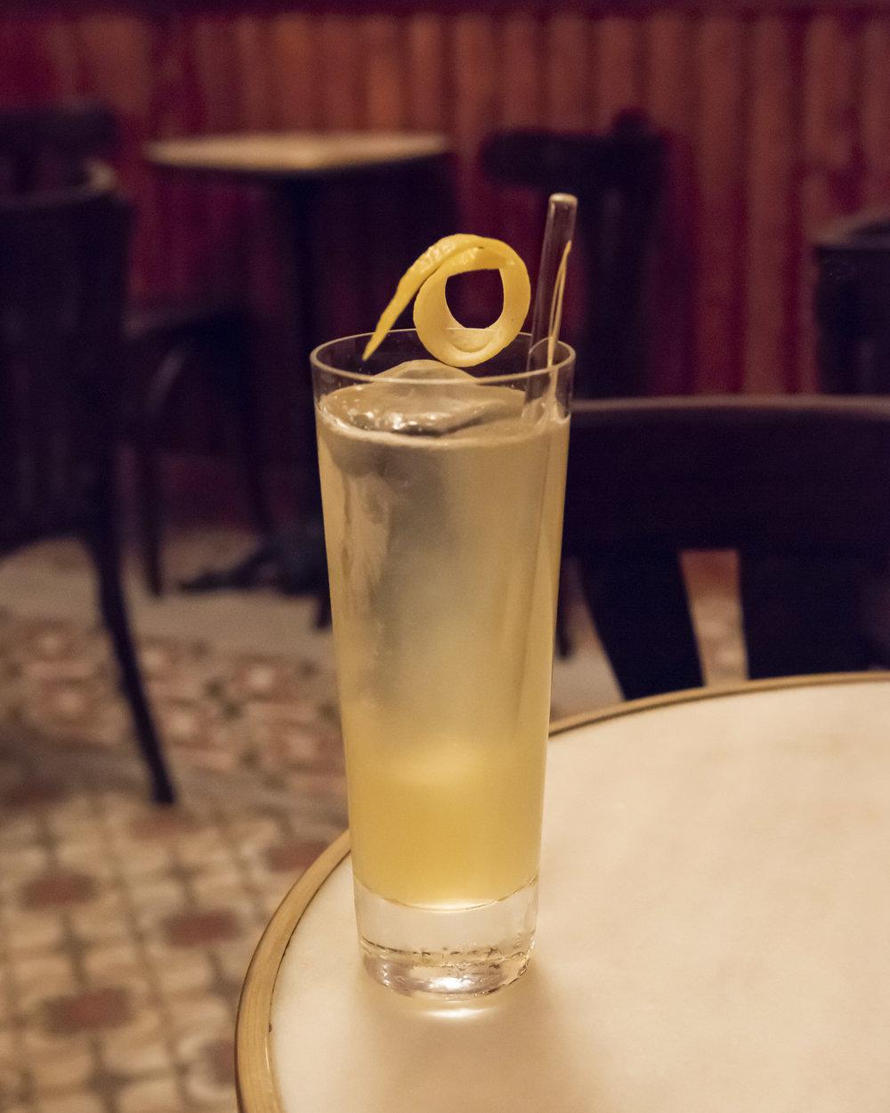 Tepache cocktail at 14 de la Rosa, Gracia, Barcelona