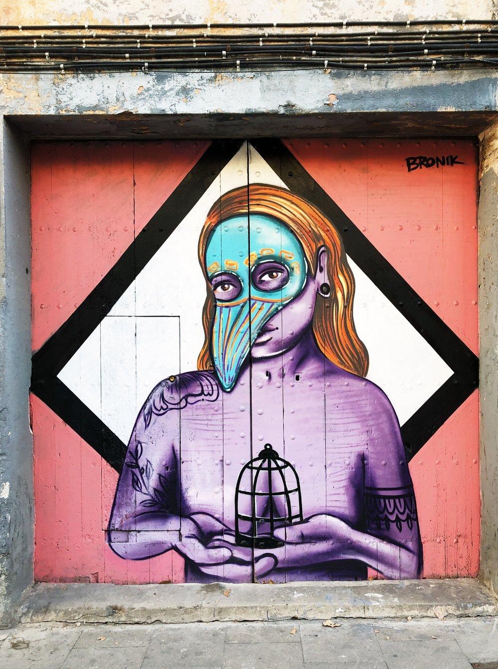 Street Art in Gracia, Barcelona