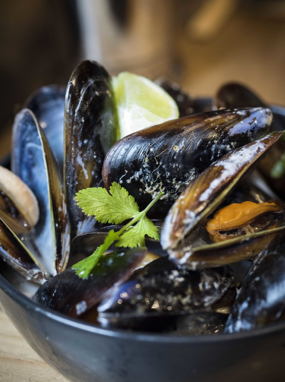 Coconut Dream Mussels