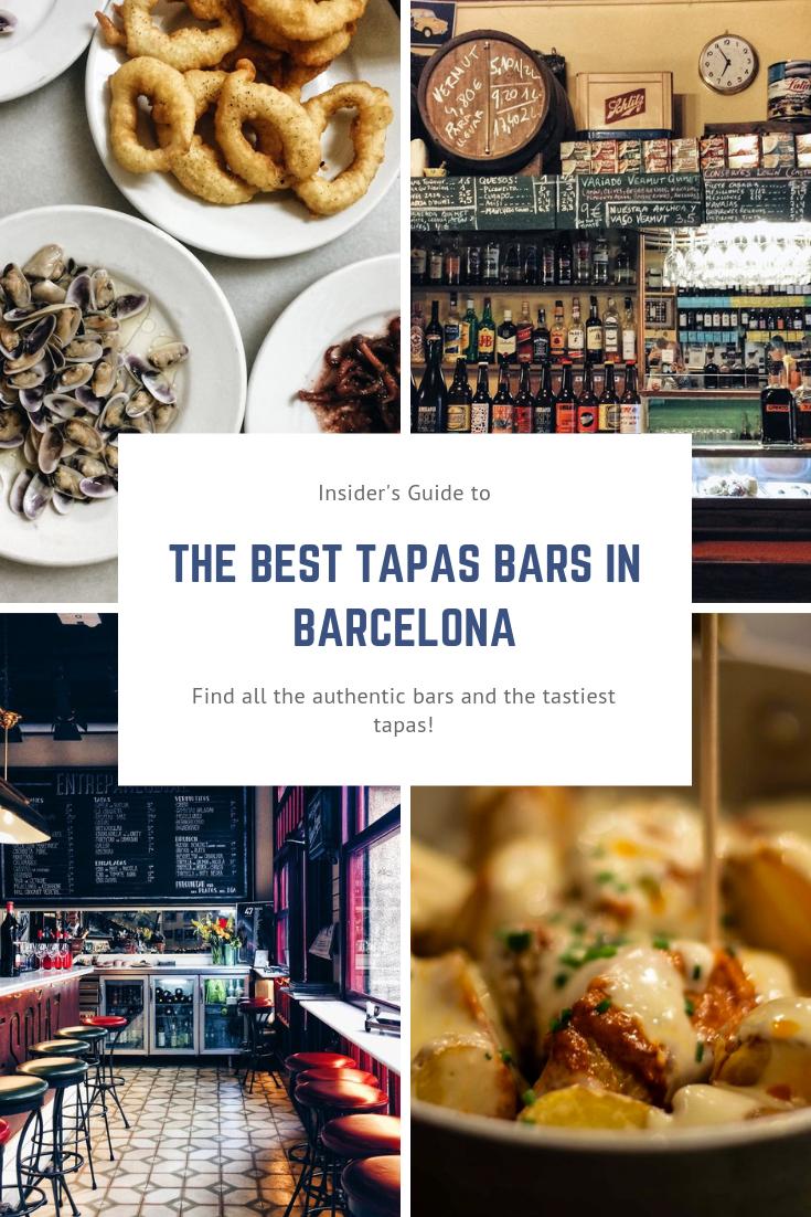 Best Tapas Bars in Barcelona Spain