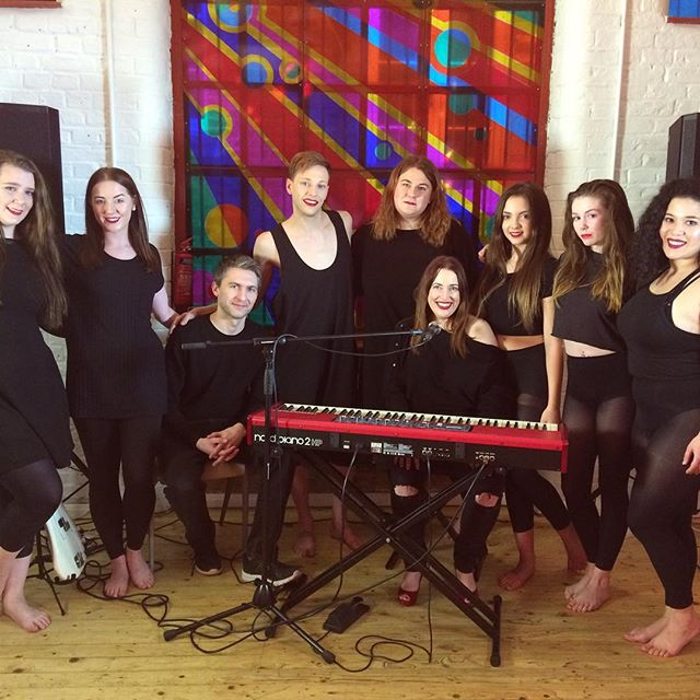 Thanks to @laganjaestranja and @k10lovely, I had these lovelies dancing to my music today!  #laganjasdanceschool #laganjaestranja #newmusic #hackney #london #piano #singersongwriter #musicvideo #dance #originalmusic #singer #songwriter #pop