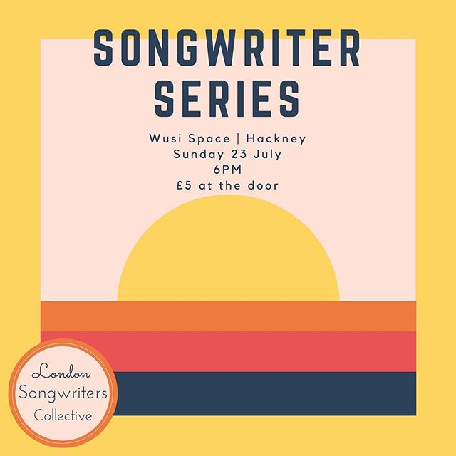 Last one of the summer!  #Repost @londonsongwriters ・・・ It's 'bout that time again! Our July Songwriter Series features @valeriapozzomusic, @robertjamesaitken, @norimaki500, @juliestirman and @taviaofficial! 🎤☀️ ⠀⠀⠀⠀⠀⠀⠀⠀⠀⠀⠀⠀ @wusispace Sunday 23rd July  6pm | £5  #singersongwriter #newmusic #london #londonmusic #songwriter #songwriting #livemusic #hackney #folkmusic #jazz #acoustic #americana #violin #singer #guitar #music #acousticguitar #gigs #londongigs #folk #soul #pop #originalmusic #songwritersessions #songwritersnight #summer #londonlife