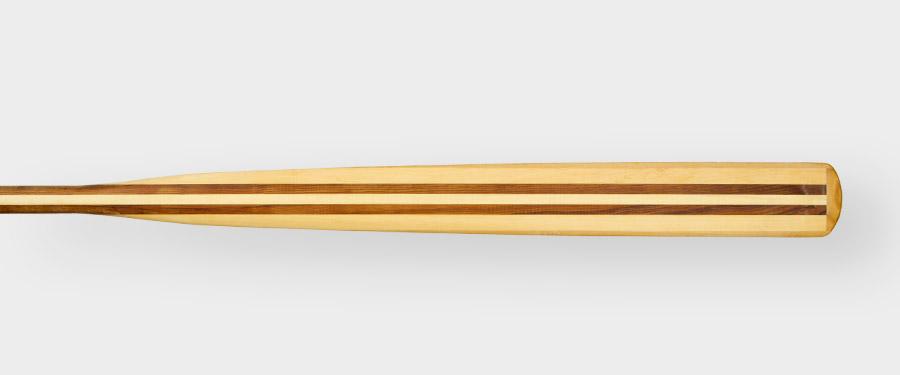Oar wood laminated paddle greenland kayak
