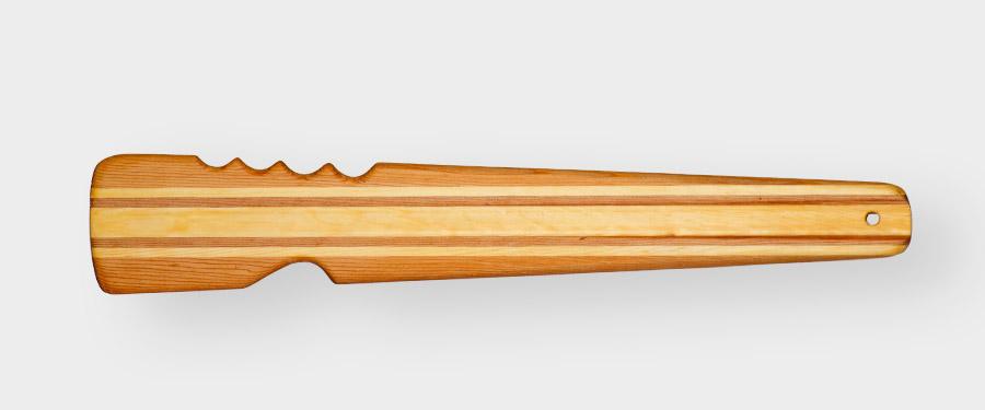 norsaq rolling stick  wood  paddle greenland kayak