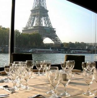 Déjeuner et Dîner croisière à la Marina de Paris A partir de 72€ (pour 2)